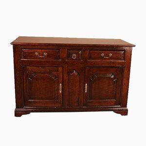 Antique English Oak Buffet / Cupboard, Late 1600s
