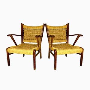 Italienische Vintage Sessel, 1970er, 2er Set