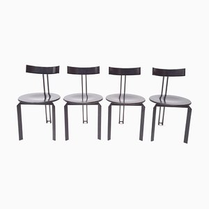 Zeta Dining Chairs by Harvink, 1986, Set of 4