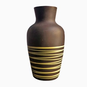 Vintage Ceramic Floor Vase from Scheurich, 1960s