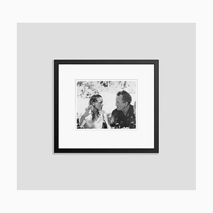 Imprimé Pigmentaire d'Archivage Fleming and Andress, Noir Encadré par Bettmann