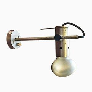 Italienische 251 Wandlampe aus Stahl von Tito Agnoli für Oluce, 1950er