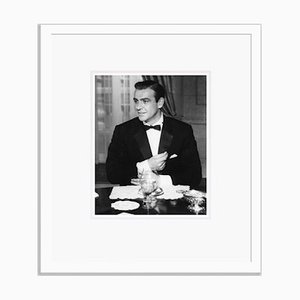 Sean Connery, Archival Pigment Print, Framed in White by Bettmann