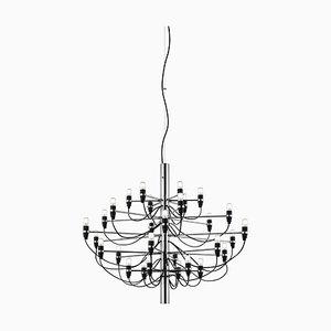 Lámpara de araña Mid-Century de Gino Sarfatti para Flos