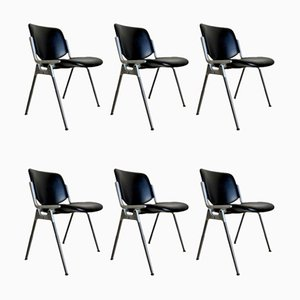 Dining Chairs by Giancarlo Piretti for Castelli / Anonima Castelli, 1960s, Set of 6