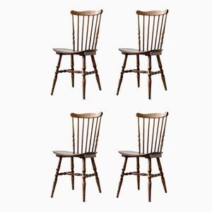 Menuet Dining Chairs by Joamin Baumann for Baumann, 1950s, Set of 4