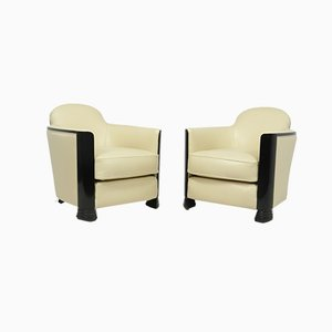 Art Deco Armchairs by Jules Leleu, 1950s, Set of 2