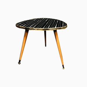 Mid-Century Kidney-Shaped Side Table, 1960s