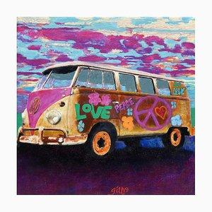 Mini bus hippie James Francis Gill