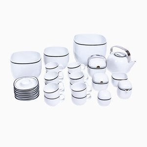 Suomi Anthracite Service Set by Timo Sarpaneva for Rosenthal