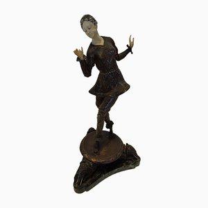 Hans Keck, Oriental Dancer, 1925, Bronze and Celluloid