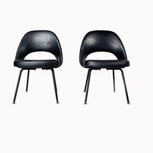 Sedie Executive di Eero Saarinen per Knoll De Coene, anni '50, set di 2