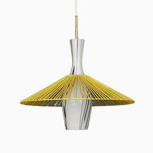 Mid-Century Modern Pendant Lamp, 1950s