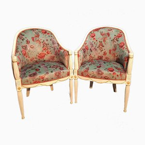 Art Deco Lounge Chairs, 1925, Set of 2