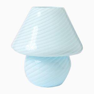 Lampe de Bureau Champignon en Verre Murano de Vietri Murano, 1970s