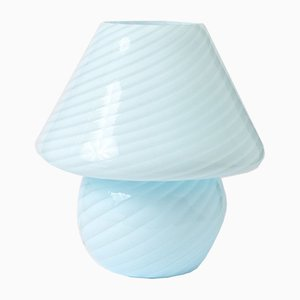 Mushroom Tischlampe aus Muranoglas von Vietri Murano, 1970er