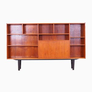 Danish Teak Credenza by Erik Jensen for Westergaard, 1970s
