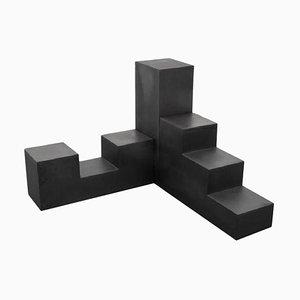 Tavoli modulari Chess di Mario Bellini per B & B Italia, 1968, set di 3