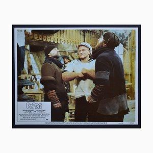 Robin Williams In Popeye, Amerikanische Lobby-Karte des Films, 1980er-Jahre