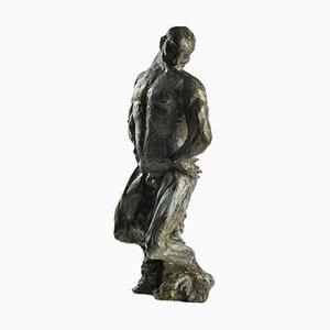 Merodack-Jeanneau, Bronze Skulptur