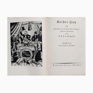 Otto Nückel, Meister Floh, Vintage Illustrated Book, 1922