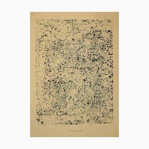Jean Dubuffet, Powdery Congress, Lithografie, 1959