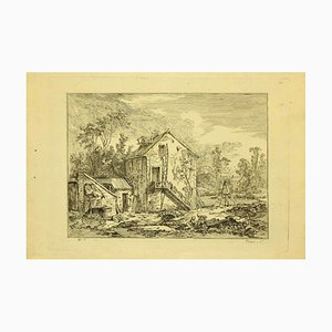 Baron De Thiers, Country Houses, Etching, 1760s