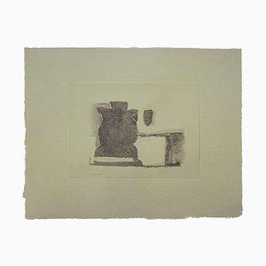 Giorgio Morandi, Urban Landscape, Vintage Offsetdruck, 1973