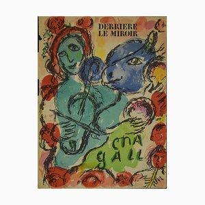Marc Chagall, The Viola: Cover for Derrière Le Miroir, Lithograph, 1972