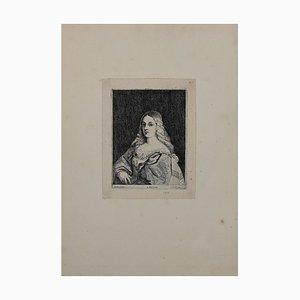 Lucas Vorsterman the Younger, Portrait, Etching, siglo XIX