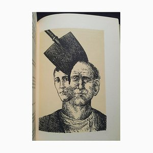 Roland Topor, Le Baladin du Monde Occidental, Illustrated Book, 1973