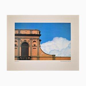 Franco Fontana, Roman Castles, Offset Print, 1983