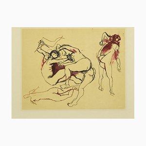 Renato Guttuso, Nudes of Women, Offsetdruck, spätes 20. Jahrhundert