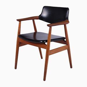 Dänischer Teakholz GM11 Schreibtischstuhl von Svend Åge Eriksen, 1960er
