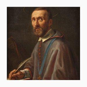 Portrait de Saint François De Sales, 19ème Siècle