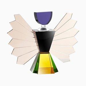 Handgeschnittener Rochester Parfüm Flakon in Kristallform