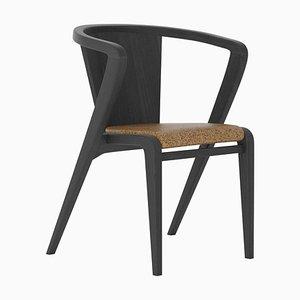 Bemalter Portugiesischer Wurzeln Stuhl aus Palisander von Alexandre Caldas