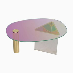 Ettore Purple Coffee Table by Asa Jungnelius