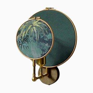 Applique Circle blu grigia di Sander Bottinga