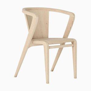 Portugiesischer Eschenholz Wurzel Stuhl von Alexandre Caldas