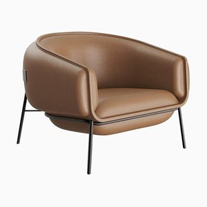 Leather Blop Armchair from DOOQ