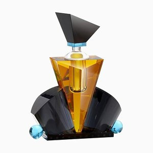 Flacone in cristallo Hamilton con taglio manuale