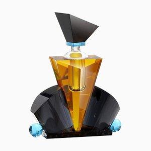 Handgeschnittener Hamilton Parfüm Flakon in Kristallform