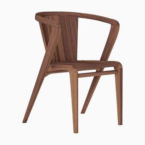 Walnuss Portugiesischer Wurzeln Stuhl von Alexandre Caldas