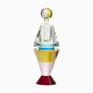 Handgeschliffener Lauderlale Parfüm Flakon in Hand-Optik