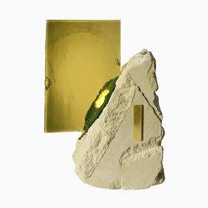 Escultura luminosa Green Lake de Precious Artefact