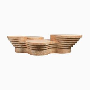 Mesa de centro Slice Me Up escultural de Pietro Franceschini