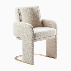Bouclé Odisseia Chair from DOOQ