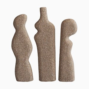 Sculptures Corneli par Bertrand Fompeyrine, Set de 3