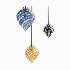 Canne Balloon Pendelleuchten von Magic Circus Editions, 3er Set